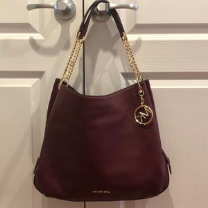 MK Large Leather Tote Bag